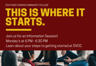 Monday Information Sessions