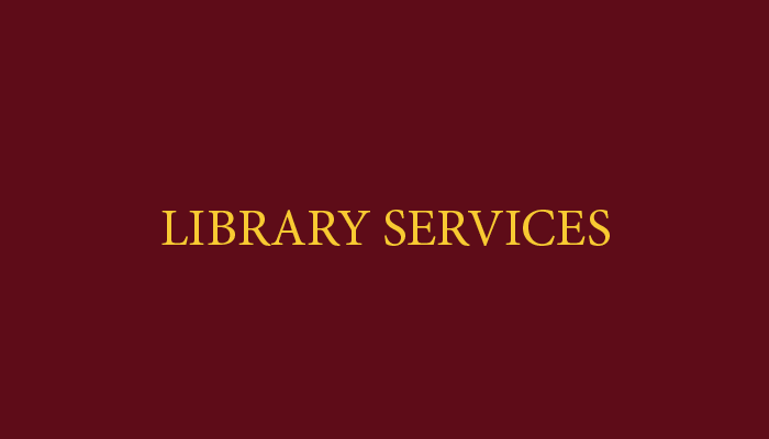 Library Services graphic