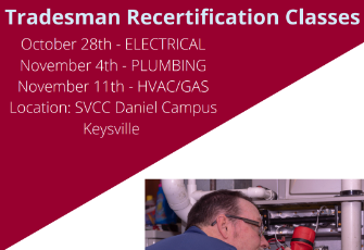 Tradesman Recertification Classes
