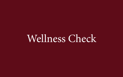 Wellness Check graphic